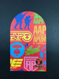 AAPE red packet angpow