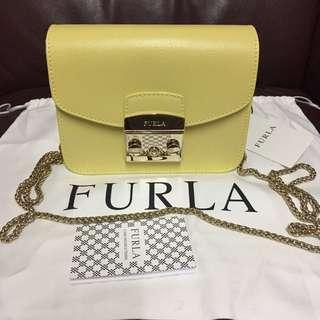 特價🇺🇸美國正品代購,香港🇭🇰現貨:全新Furla Mini Crossboby 包包!made in Italy