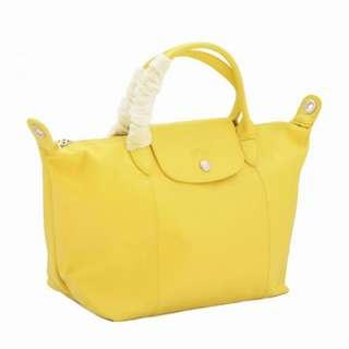 Longchamp Cuir Lemon Small Original