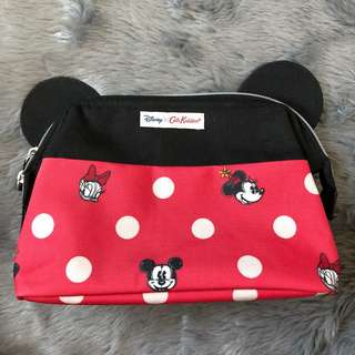 Cath Kidston x Disney Mickey Mouse Pouch