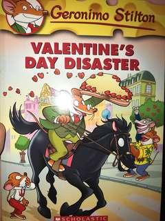 Geronimo Stilton-Valentine's Day Disaster