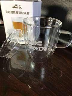 高級耐熱玻璃雙層杯