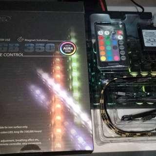 DeepCool RGB 350 LED strips w/ Remote