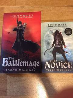($25 for both) The Novice and The Battlemage