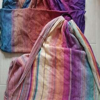 handwoven ring sling