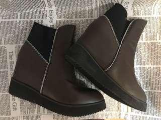 🚚 咖啡短靴