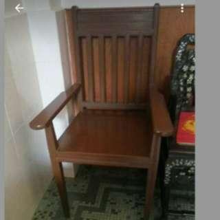 Old Vintage Wood Chair