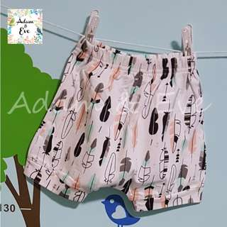 Assorted Graphic Shorts E12 – Colourful Feathers Shorts