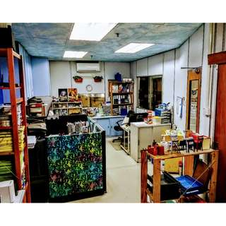 Office Rental : room 100 sq ft (from $500), and/or Whole Unit with store & pantry 1,500 sq ft ($3,500)