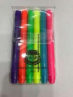 Colour Highlighter or Marker Pen