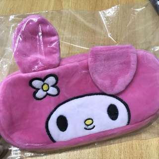 BN my melody pencil case