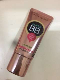 Maybelline super cover bb cream