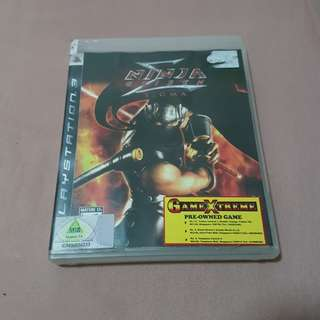 PS3 Game Ninja Gaiden