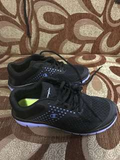 de850de86 Preloved Champion Black Rubber Shoes