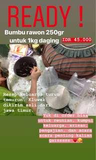 Bumbu Rawon Asli Madiun 100%