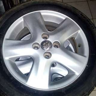 Velg original yaris 2012,ring 15