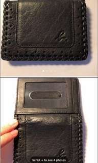 Agnes B Voyage leather Cardholder - Unisex