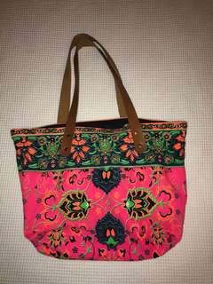 Bali style colourful bag