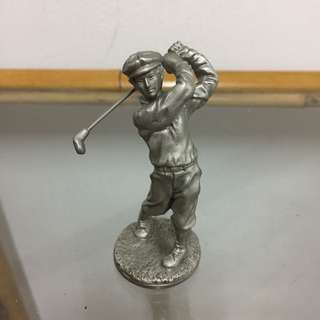Pewter Golf Collectables
