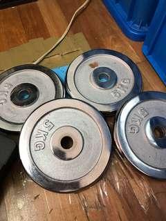 40kg 啞鈴組 另贈兩隻短槓