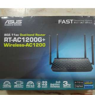 Dual-band Wireless Router: ASUS RT-AC 1200G+