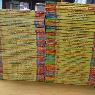 Geronimo stilton original series (tiles #1-#57)