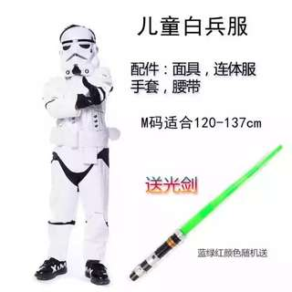 100% New Starwars Kids Costume