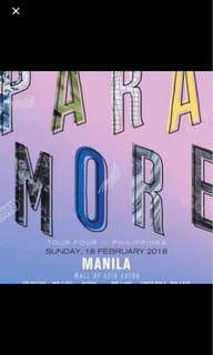 REPRICED! PARAMORE VIP TICKET