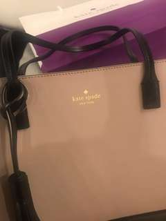 Kate Spade bag brand new (almond/black color)