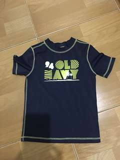 Authentic Old Navy Rashguard 5T
