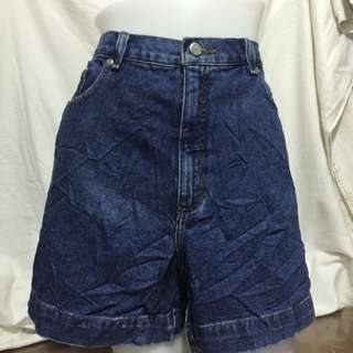 HIGH SIERRA high waist denim ladies plus size walking/sexy shorts 15