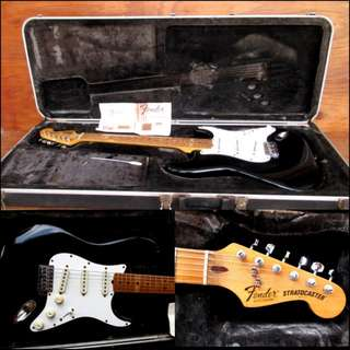 1982 Fender Stratocaster Dan Smith 3 Knobs