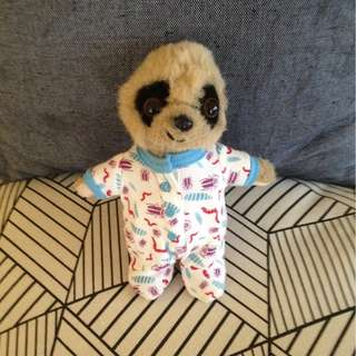Soft toy with diaper