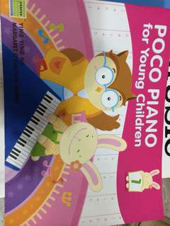 POcO Piano for uoung children, book 1