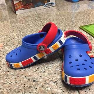兒童樂高防滑鞋/沙灘鞋/洞洞鞋/透氣涼鞋