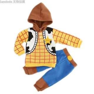 Super cute Disney Woody Kids Costume (Jacket & Pant)