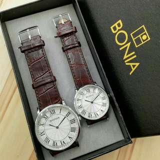 Bonia Couple Watch