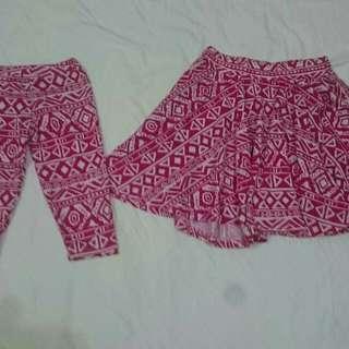 Matching Dress (Skirt and Leggings)