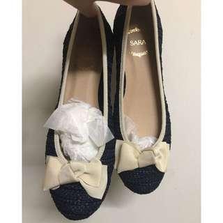 全新 日本製娃娃鞋 平底鞋 原購入價合台幣1400左右