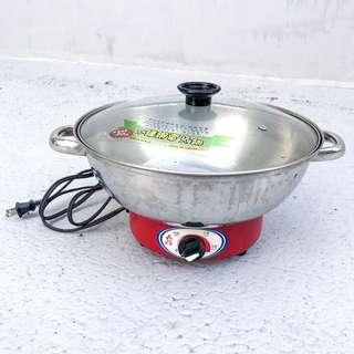 【勳風不銹鋼電火鍋】吃鍋好夥伴! 其實煮水餃也蠻好用的~