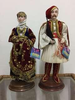 Greek Doll Traditional Costume
