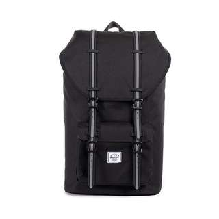 Herschel Little America Full Vol Backpack (Black and Grey)