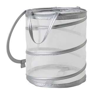 [IKEA] FYLLEN Laundry Basket / Grey
