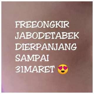 Promo freeongkir :)