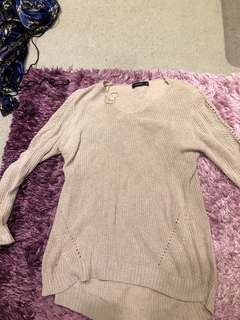 Glassons knitted jumper size 8