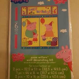 Birthday Peppa Pig Deco