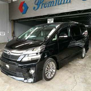 2013 TOYOTA VELLFIRE 2.4 Z GOLDEN EYES SUNROOF MOONROOF