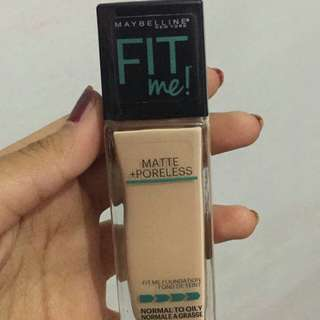 Maybelline fit me foundation matte shade 115