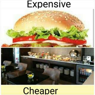 Enjoy your Hilton Hotel breakfast with price cheaper than at McDonald's for your Hilton stay.
