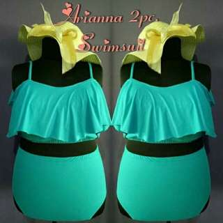 PLUS SIZE ARIANA TWO PIECE SWIMSUIT